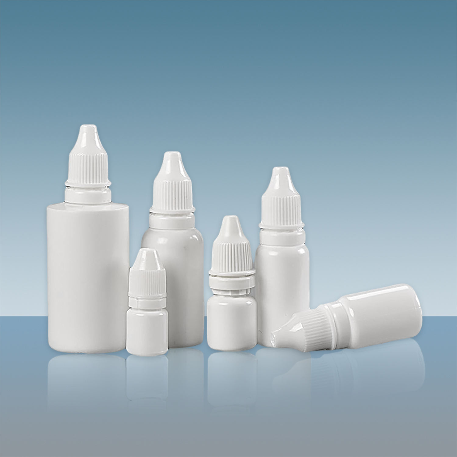 TUV Certification 2ml 5ml 10ml 15ml 30ml 50ml Plastic LDPE Dropper Bottles With Tamperproof Cap