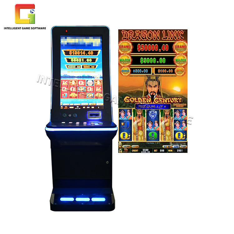 Wholesale High Holding Rate 32 Inch Vertical Metal Cabinet Dragon Link Slot Machines