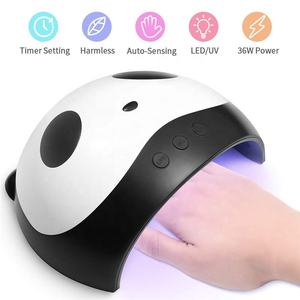 Best price professional smart finger art machine manicure gel polish dryer 36w led nail uv lamp