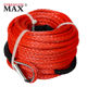 (JINLI ROPE) car emergency tool kit, synthetic HMPE Winch rope