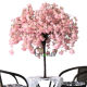 wedding table centerpieces tree mini artificial cherry blossom tree for decoration