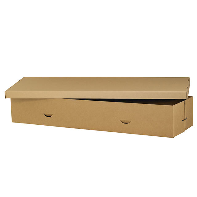 2020 Biodegradable Cheap Price Plain Cardboard Carton Coffin Casket