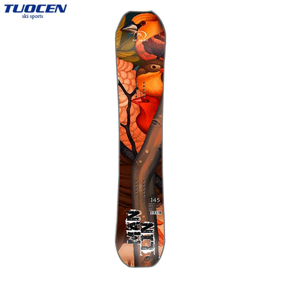 OEM Factory Price Carbon Fiber Freestyle Snowboard For Winter Sports