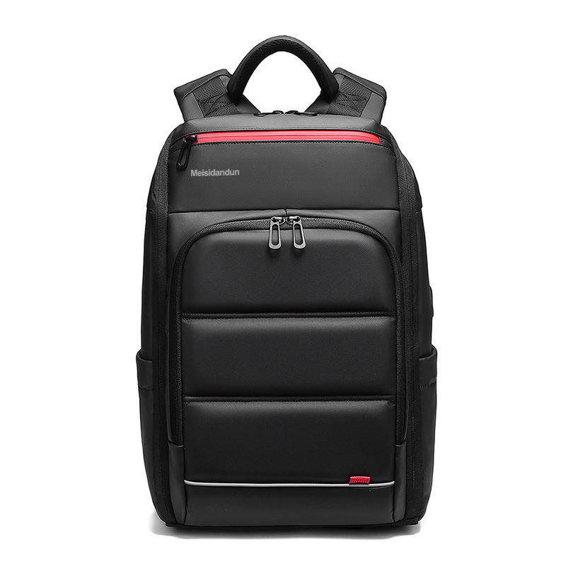high density best waterproof business travel 3 compartments 15.6'' PVC laptop backpack for men