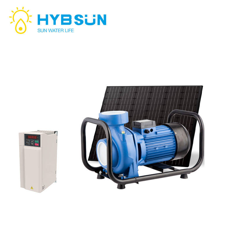 Hybrid AC/DC Portable Solar Hybrid Surface pumping system with inverter