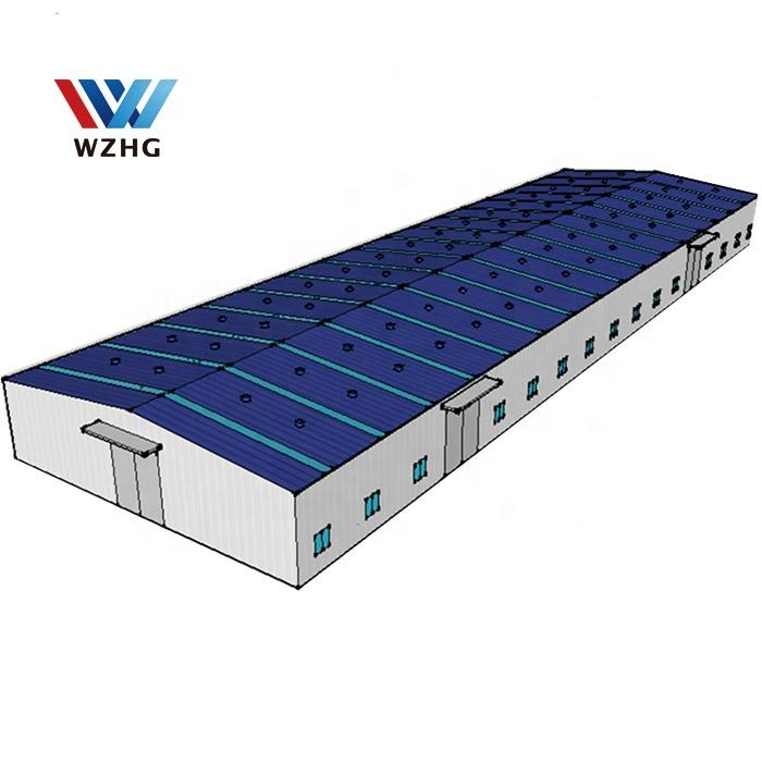 Low Cost Chinese Standard Design Industrial Building Warehouse Steel Structure price
