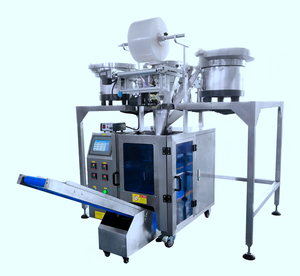 Automatic hardware packaging machine vibratory bowl feeder automatic count screw nut packing machine factory price