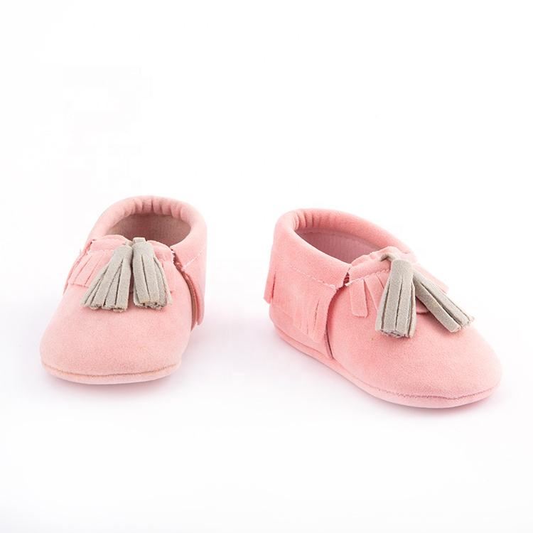 Hot sales soft bottom prewalkers boots infant shoes newborn baby moccasin