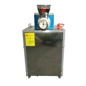 pasta machine industrial macaroni cooker production line