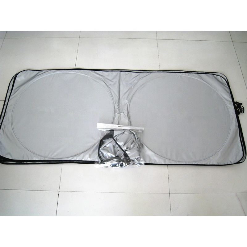 PVC Sticker Windshield Roller Car Front Sunshade