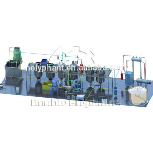 Professional manufacturer soybean processing plants oil refining equipment