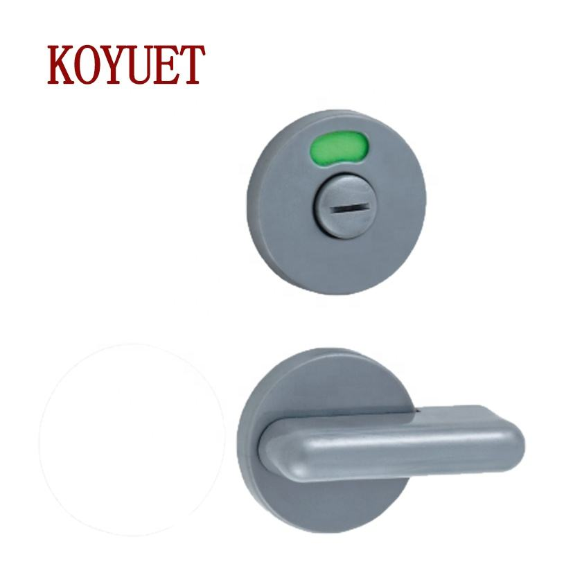 New simple style good quality toilet cubicles plastic shower door lock