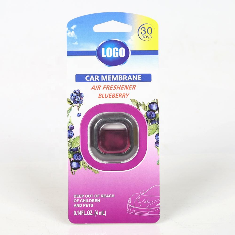 Custom Designer Liquid Auto Car Vent Perfume Clips Car Air Freshener