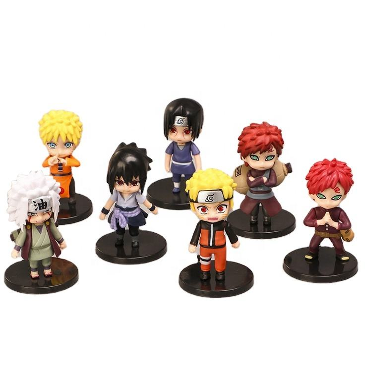 Hot Custom Display Stand3D Moving Naruto Anime Action Figure