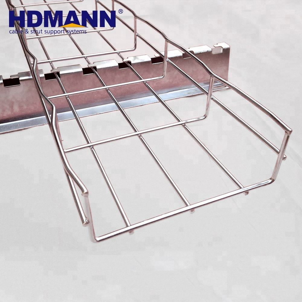 Offshore Electrical Galvanized Wire Mesh Cable Tray Price