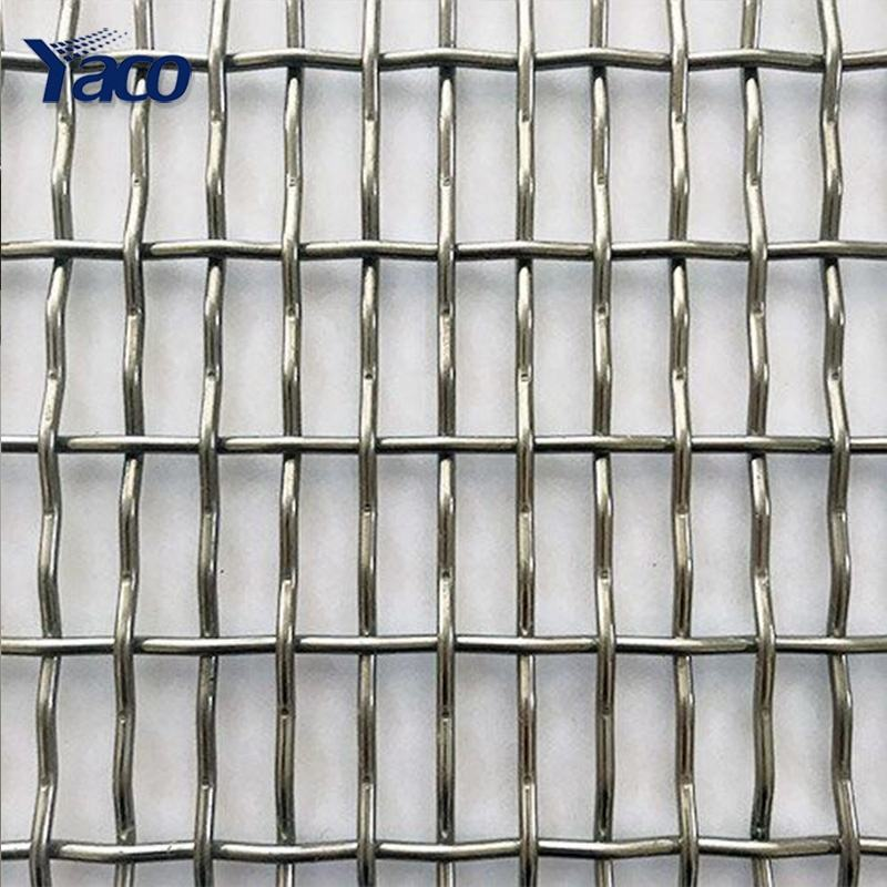 mesh 3x3 decorative stainless steel / high carbon steel woven crimped metal sheet wire mesh / cloth / net / rhombus wire mesh