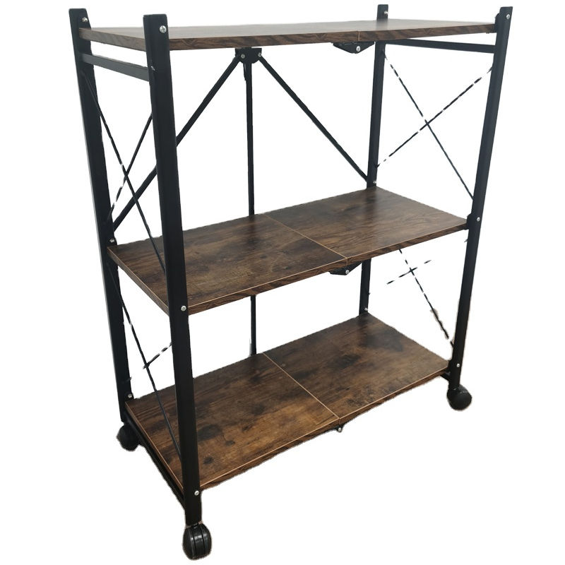 Hot selling multi-functional folding furnitures steel shelf three sences with high quality good price