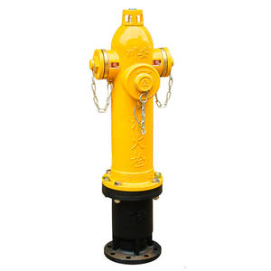 Outdoor Ground/ Underground Types Used Fire Hydrant For Firefighter
