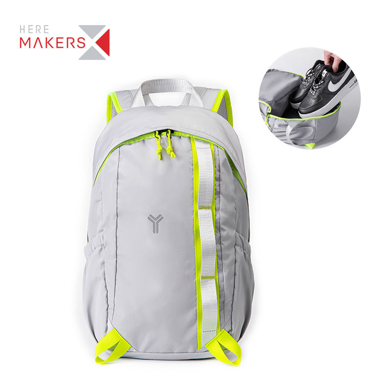 Light weight laptop with shoes compartment bags sport hiking travel student school gym waterproof backpack