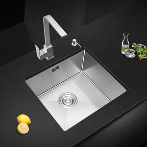 Vermonhouzz Handmade Stainless Steel Kitchen Sink With Water Drainer