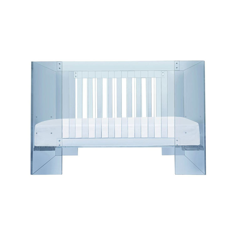 Slap-up Baby Crib Detachable Acrylic Crib Clear Acrylic Baby Crib