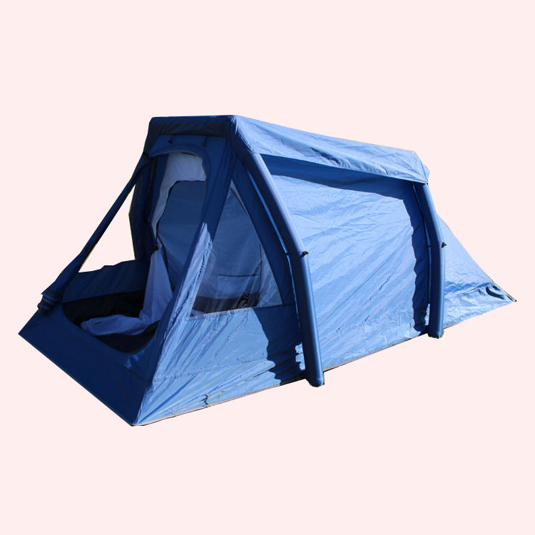 Small portable air conditioned tent / air tight tent with inflatable pole
