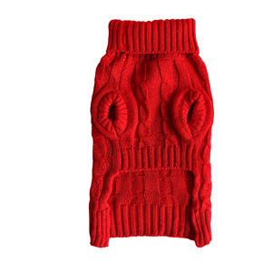 Turtleneck Sweater Custom Cute Small New Cheap Wholesale Pet Dog Clothes