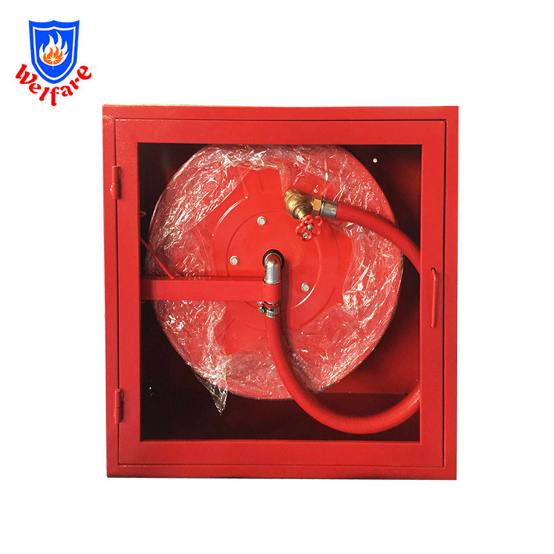 "1"" *25M/1"" *30M swing type Fire Hose Reel with cabinet"