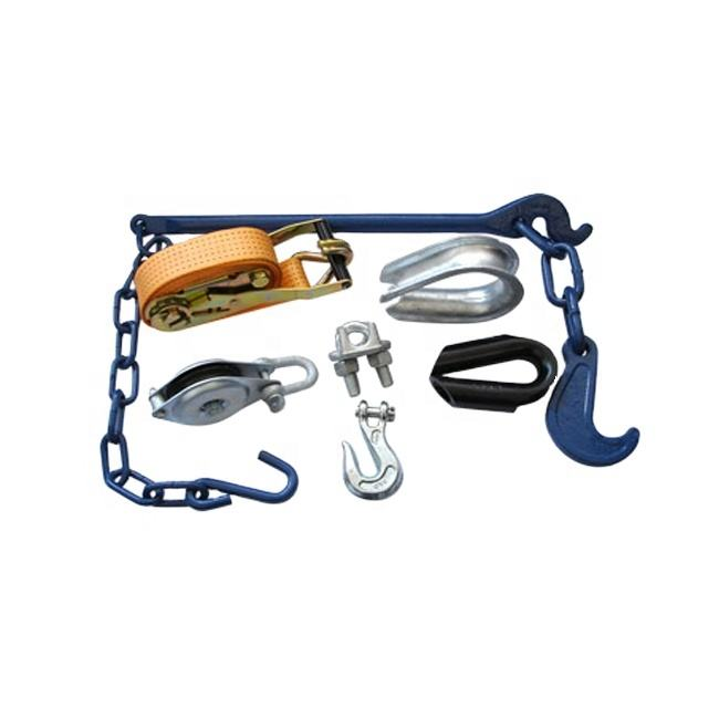 Various rigging hardware products