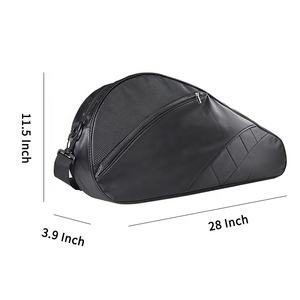 Custom Badminton Kit Padel Bag Wholesale Waterproof Black Tennis Racket Cover Bag For Sports
