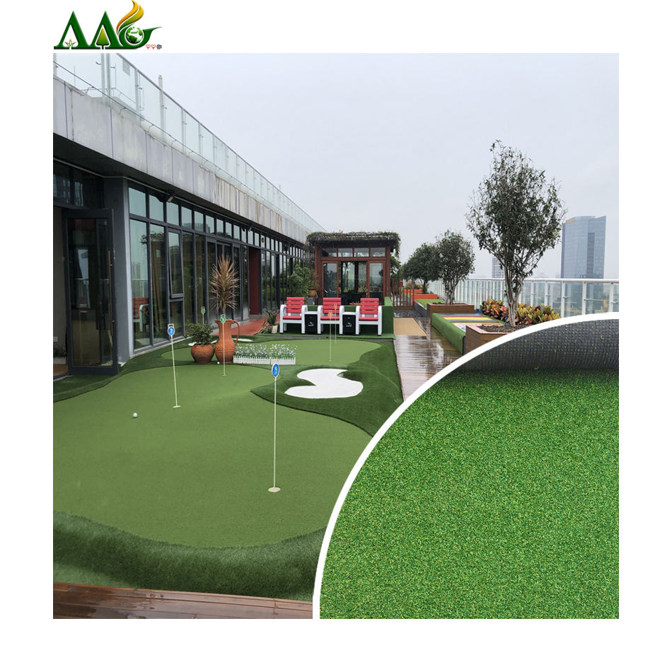 High quality 10mm 12mm 15mm 20mm fake lawn panel supplier faux grass wall carpet price synthetic grass in kindergarten