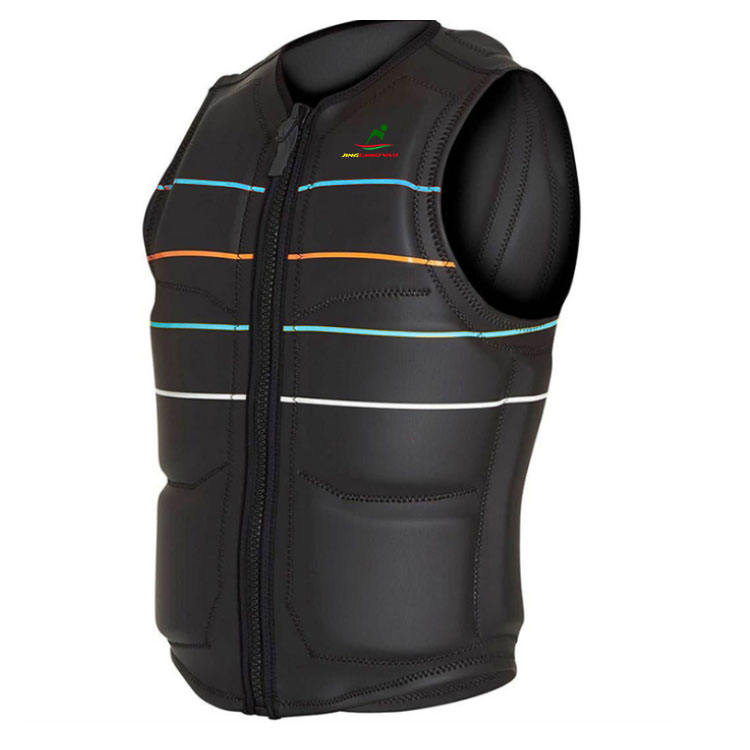 quality Customized Neoprene life vest water Sport Life Jacket for adult