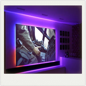 XY Screen hot sale ALR screen PET crystal ultra short throw projection screen for 4k laser projector