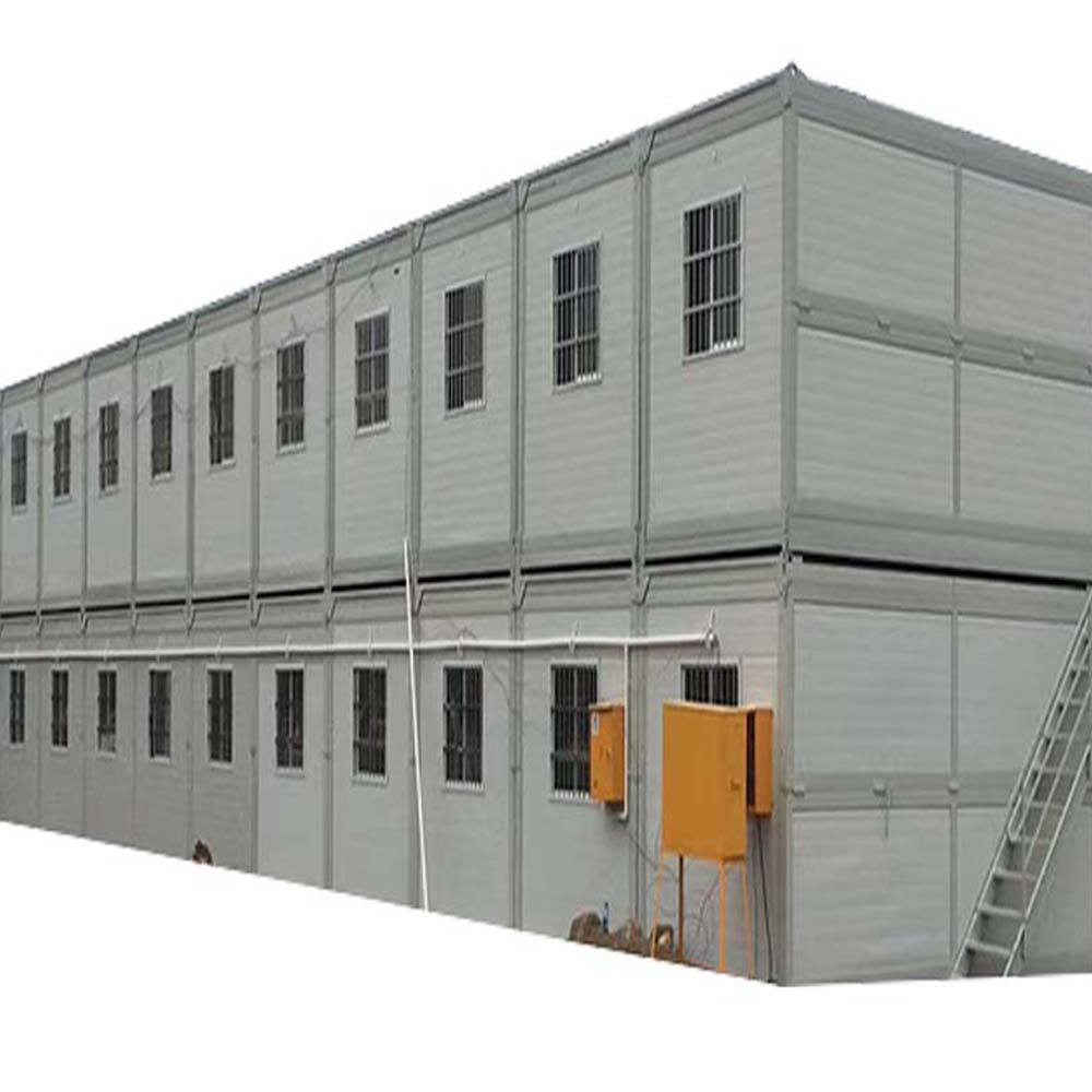 Folding Container House Used for Construction Dorm, Refugee Housing, Quarantine Rooms, Temporary office or Accomodation