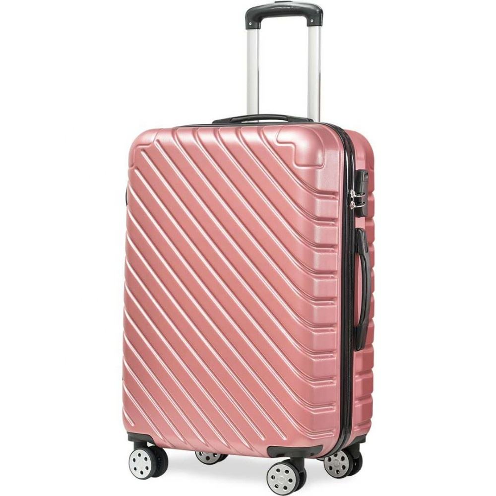 ABS PC smart travelling hand bags carry on travel bags cabin luggage suitcase set trolly bags sets custom hard spinner luggage