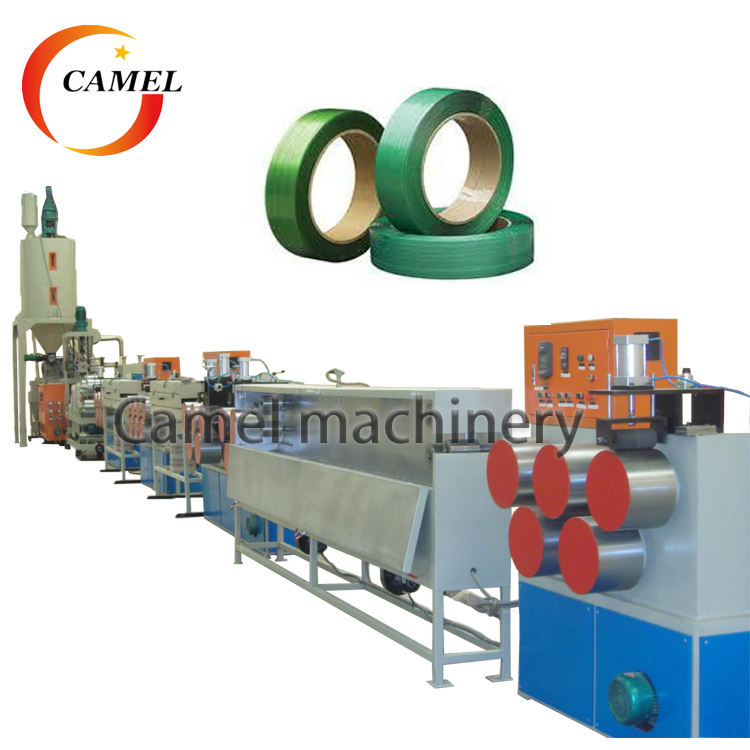 PET strap band extrusion line/PET packing belt making machine