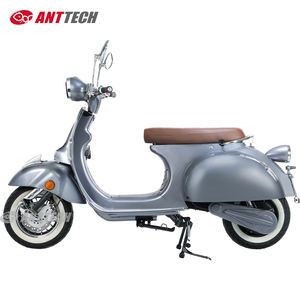 EEC 2000W vintage Vespa retro style electric Scooter with 60v 40Ah durable lithium battery adult electric motorcycle for sale