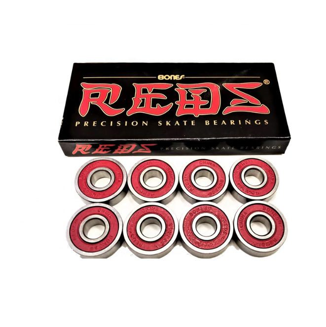 High Speed Professional Reds 608 RS 8 × 22 × 7ミリメートル8個Per Box Basic Type Roller Skateboard Ball Bearing For Skate Board