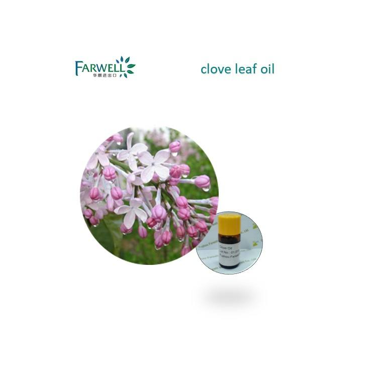 Farwell 100% natural bulk clove leaf oil price CAS 8000-34-8