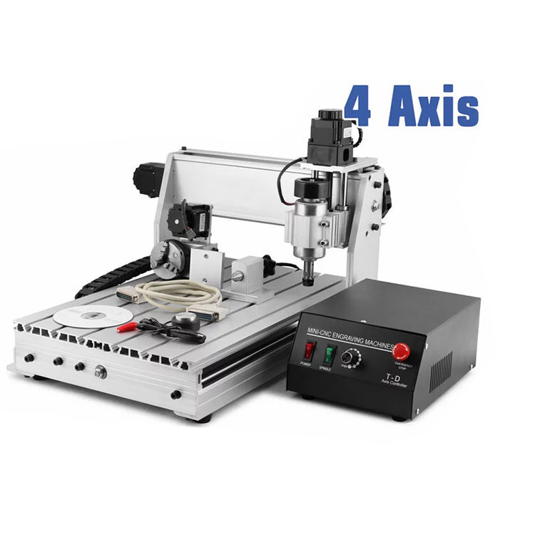 mini cnc 3040 router/4 axis cnc wood engraving machine