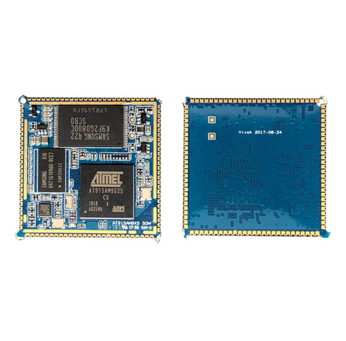 400MHz PCBA Embedded Industrial SOM module based on AT91SAM9G25 CPU in iot solutions