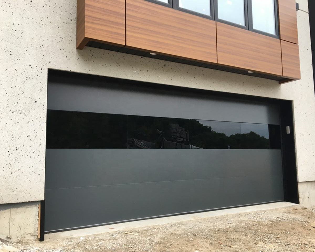 American Modern Steel Sectional Garage Doors Overhead Insulated 9x8 Flap Sliding Garage Door Prices