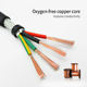 Twisted Copper Coppercopper 4core*0.3MM2 22AWG Core Shielded Cable And Wire Flexible Shielded Twisted Pair Copper Cable