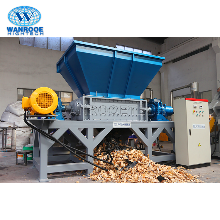 Plastic Film Plywood Wood Shredder Machine Price
