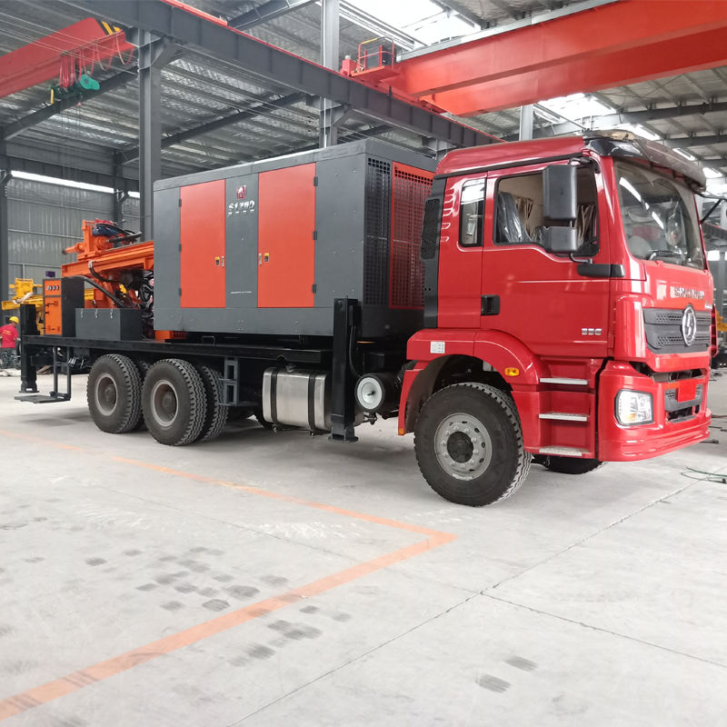 New 600m truck mounted deep borehole water well drilling rig machine for sale