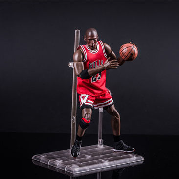 PVC Toy NBA Bulls Number 23 Basketball Jordan 22cm Action Figure