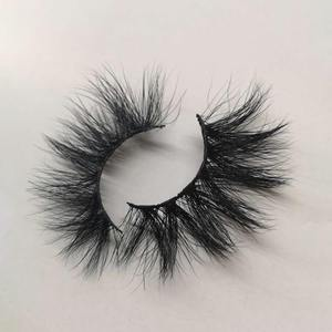 Handmade real fur 100% mink strip 3d mink lashes vendor free sample eyelashes
