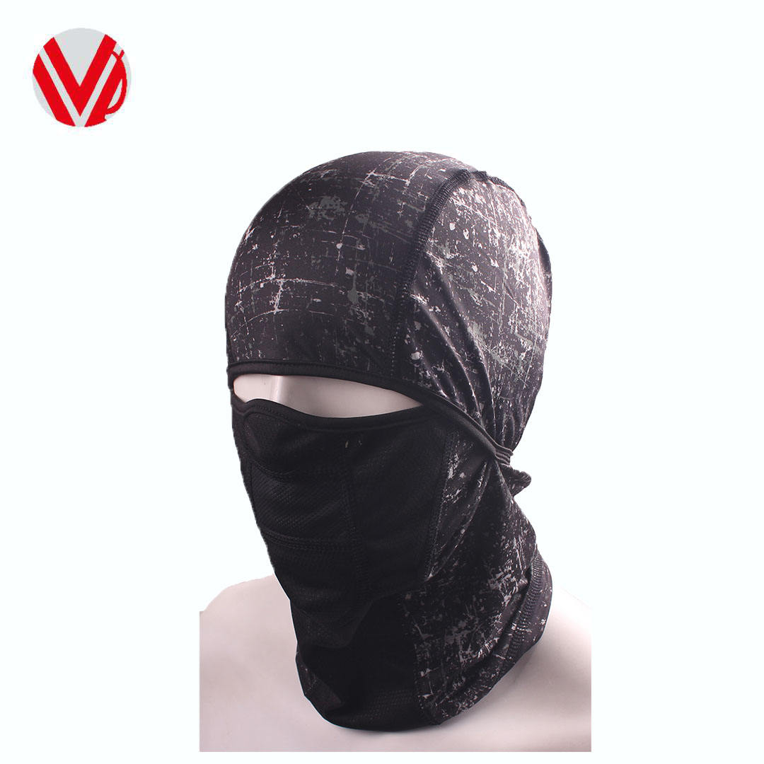 Custom Outdoor Sport Black Neck <span class=keywords><strong>Ski</strong></span> Winter Warm Digital Printing Bivakmuts Gezichtsmasker