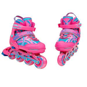 Color : A, Size : 35 NO BRAND Rueda Grande de Rodillos Kates Patines en l/ínea Patines en l/ínea for Adultos Patinaje de Velocidad Zapatillas de Carreras Zapatos for Adultos Hombres y Mujeres Patines