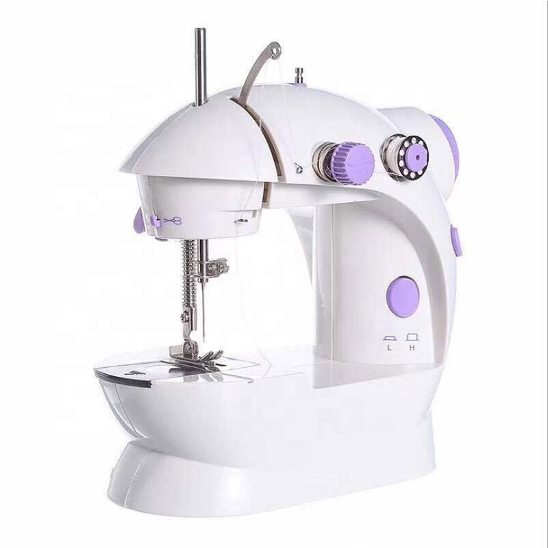 Household Night Light Foot Pedal Portable Handheld Wig Sewing Doll Hair Sewing Machine